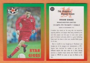 Wales Ryan Giggs Manchester United